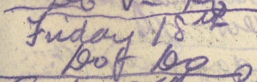 ELG - War Diary - 18-05-1917